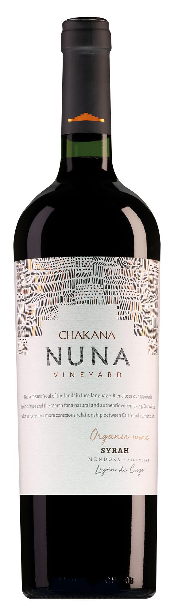 Chakana Mendoza Nuna Estate Syrah