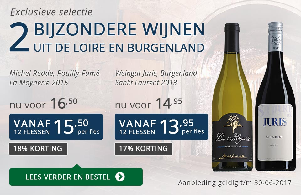 Exclusieve wijnen juni 2017 - blauw