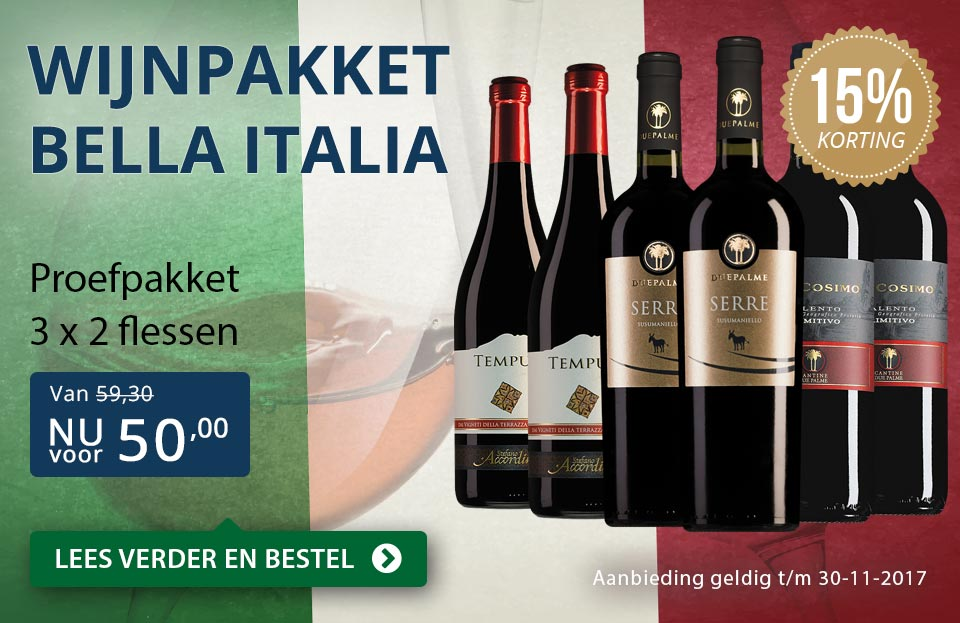 Proefpakket Bella Italia - blauw