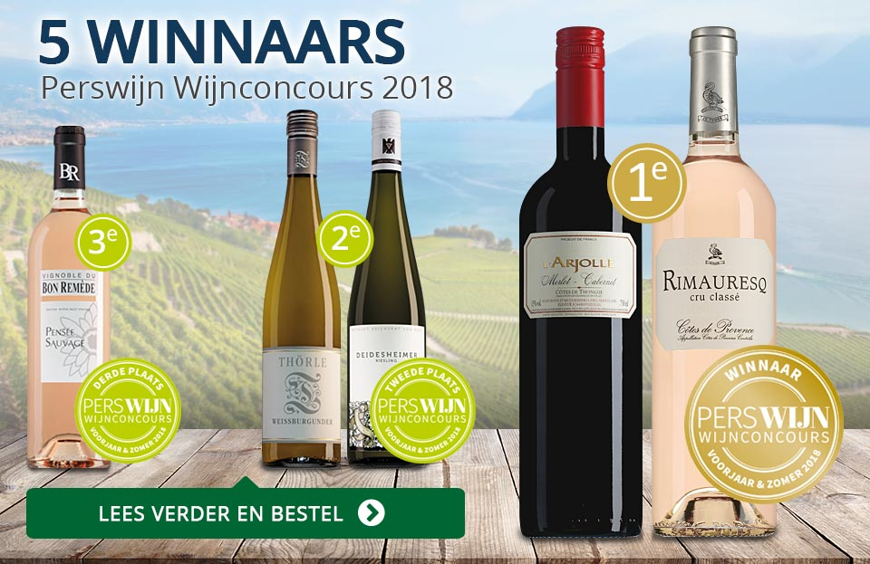 Perswijn Wijnconcours 2018 - blauw