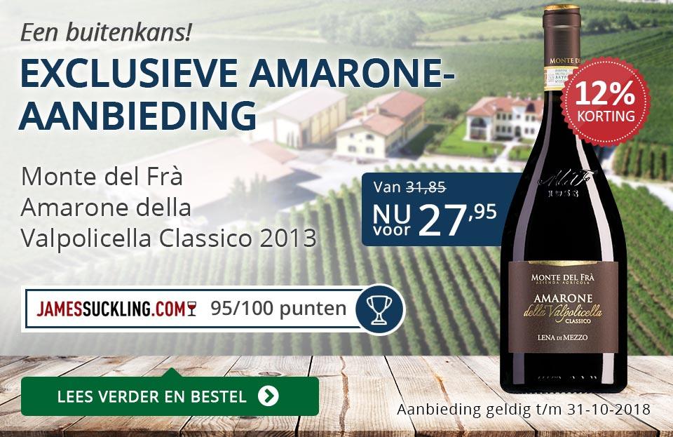 Exclusieve Amarone-aanbieding - blauw